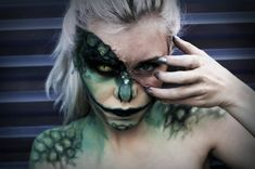 The Lizard - Marvel Makeup by Mirish monster beast creature animal | Create your own roleplaying game material w/ RPG Bard: www.rpgbard.com | Writing inspiration for Dungeons and Dragons DND D&D Pathfinder PFRPG Warhammer 40k Star Wars Shadowrun Call of Cthulhu Lord of the Rings LoTR + d20 fantasy science fiction scifi horror design | Not Trusty Sword art: click artwork for source