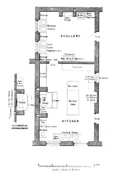 the servant s quarters in 19th century country houses like downton