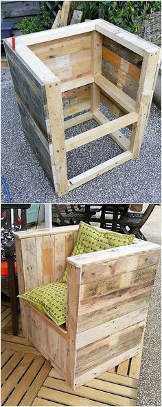The trend of placing the chair designs of wood pallet in the house is getting quite in greater demand these days. This is one such superb idea of wood pallet chair that would indulge your mind to add it in your house with sturdy effect as well. Did you find it unique and interesting?
