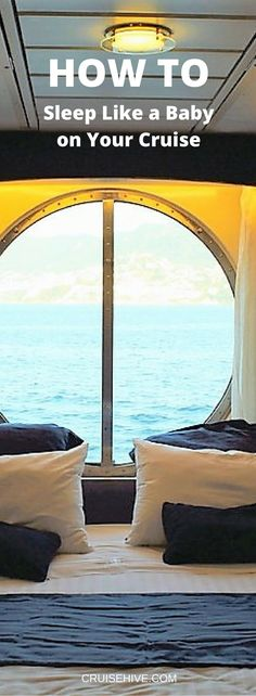 For first time cruisers, set up your experience to get ample sleep time #cruiserules #cruise