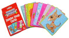 Jumbo Snap Cards Large & Colourful Picture Snap Game Tallon Christmas Gift #Tallon  Jumbo #SnapCards Large & #Colourful #PictureSnap #GameS Tallon #Christmas #STOCKINGSFILLER Gift #Tallon