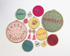 Mr X Stitch Embroidery Hoops  and Lady Humps?