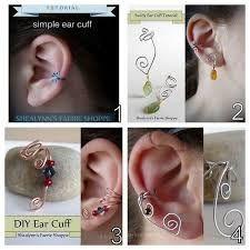 Resultado de imagem para DIY Ear Cuff Tutorial