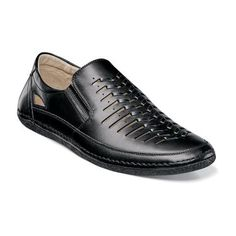 Naples Moc Toe Slip On by Stacy Adams. Black MenShoes ...