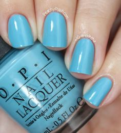 OPI Can't Find My Czechbook - Euro Centrale Collection Spring/Summer 2013