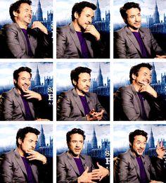 "Robert Downey Jr. promoting ""Sherlock Holmes: A Game of Shadows"""
