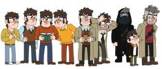 Stanfords, Stanfords, and More Stanfords by BlueOrca2000 on DeviantArt Garden Falls, Tad Strange, Reverse Falls, Bojack Horseman, Stay Weird, Disney And More, Star Vs The Forces Of Evil, Force Of Evil, Best Tv Shows