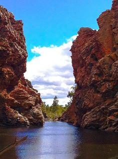 Ellery Gorge on the Larapinta Trail, NT Trekking, Trail, Road Trip, Hiking, Water, Outdoor, Walks, Gripe Water, Outdoors