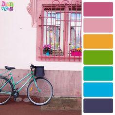 Colmar France in Color Palettes