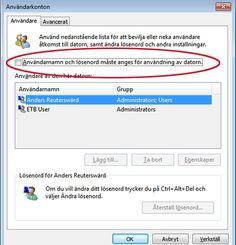 Guide: 4 steg för att slippa inloggningen i Windows
