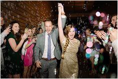 Bubble exit for bride and groom | Newport Beach | Orange County | Brooke Bakken Wedding Photgrapher