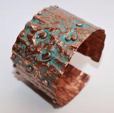 Brazalete de cobre .  www.vadejoies.com