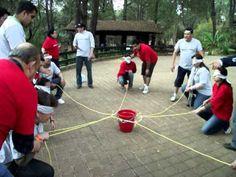 dinamica trabajo en equipo osc - YouTube bucket challenge