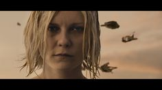 The opening shot of Lars von Trier's Melancholia is a close-up of Justine (played by Kirsten Dunst) her eyes shut, her wet, white-blonde hair wild, a feral halo around her face. And then she slowly opens her eyes. Kirsten Dunst, Mary Jane Watson, Les Ames Vagabondes, Jim Kerr, Marie Antoinette 2006, Lars Von Trier, House Of M, White Blonde Hair, Cinemagraph