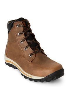 Timberland (Kids Boys) Light Brown Chillberg Waterproof Boots