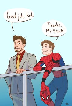 Spider-Man: Homecoming || Tony Stark & Peter Parker - Just a proud father and his spider son