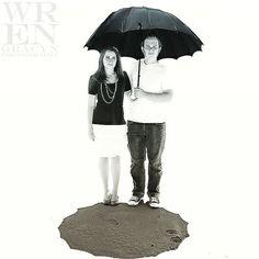 Wren Gracyn Photography #WrenGracynPhotography #abstract #illusion #floating #shadow #umbrella #saltflats #utah #couple #engagements #photography #fashion #art #utahphotographer #utahgram #utahgramer