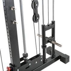 The Barbarian Smith Cable Rack is a complete gym solution for the home or studio where space is tight. Features a half rack, smith machine and cable crossover. Weight Lifting Equipment, Diy Gym Equipment, No Equipment Workout, Fitness Equipment, Trx Gym, Gym Workouts, Diy Power Rack, Gym Rack, Gym Setup