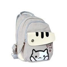 Neko Atsume Cat Backyard Printing Backpack