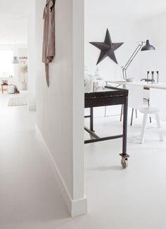 Van tegels tot beton, van tapijt tot marmoleum.
