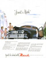 Nash 600 Motorcar 1947 Ad Picture