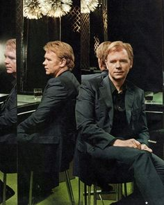 OH LA LA!! Mr, David Caruso! You deserve an award! For being this sexy! In public!! God, bless you! So ladies, ladies, ladies! Let us all, keep our sunglasses on! So we can protect our, eyes!!