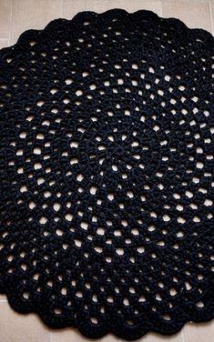 Round Rug Crochet Pattern