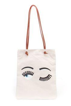 Kandy Kouture Beige Eye Print Canvas Shoppers Handbag | AMICLUBWEAR saved by #ShoppingIS