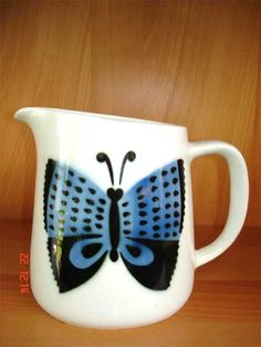 Arabia Marimekko, Finland, Porcelain, Dishes, Mugs, Tableware, Vintage, Design, Porcelain Ceramics