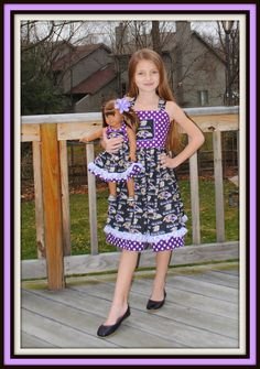 Custom Boutique Ravens Football Dress 1t8 by KayBellaBoutique, $42.00... We can do any team!!!!