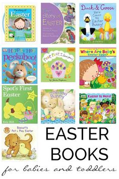 Easter basket ideas for babies easter gift ideas for baby easter books for babies and toddlers negle Image collections