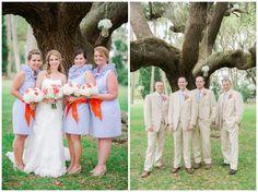 Orange & Blue Wedding | Florida Gator Wedding | Southern Wedding Inspiration