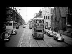 Glasgow - A Look at the tram cars - YouTube