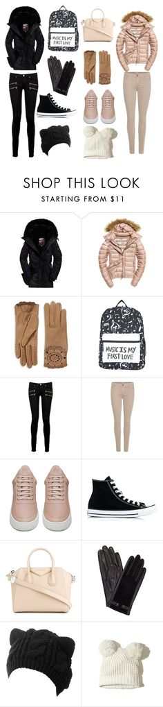 """Opposites"" by steampunkfaery ❤ liked on Polyvore featuring Fuji, Burberry, Paige Denim, 7 For All Mankind, Filling Pieces, Converse, Givenchy, John Lewis and Hollister Co."