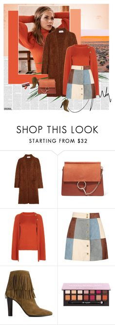 """""""Emily Blunt"""" by stephaniee90 ❤ liked on Polyvore featuring Chloé, Vanessa Bruno, Boohoo, Yves Saint Laurent and Bobbi Brown Cosmetics"""