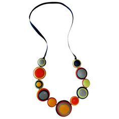 Shop Women's Necklaces and Pendants of all varieties at Ruby Olive. We bring you the best of statement jewellery sure to get a conversation started. Resin Necklace, Disc Necklace, Pendant Necklace, Women's Necklaces, Plastic Jewelry, Resin Jewelry, Jewellery, Multi Coloured Necklaces, Selling Jewelry