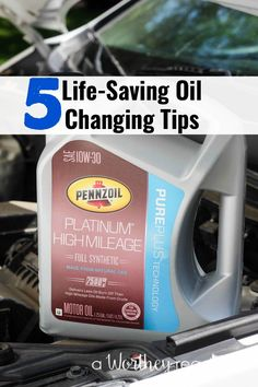 Change Your Own Oil