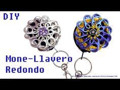 Monedero Llavero Redondo con anillas