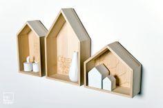 räder Sammelhäuser Schöne Dinge und gute Gedanken machen aus einem Haus ein geliebtes Zuhause. Aus Pappelholz mit gelaserter Grafik.