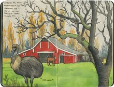 Gobble gobble – Drawn the Road Again