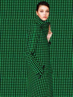 Diana Moldovan by Enric Galceran for Vogue México September 2015