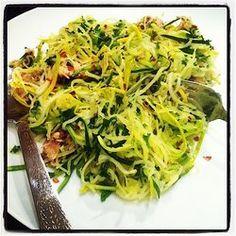 Mediterranean Zucchini Noodles with Sardines — Punchfork