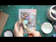 Summer CARD in LIlac - YouTube
