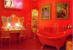 Decoración Alaska y Mario - Decoración de Interiores | Opendeco Alaska, Estilo Kitsch, Mario, Dream Apartment, Corner Bathtub, Decoration, Thrifting, My House, Inspiration