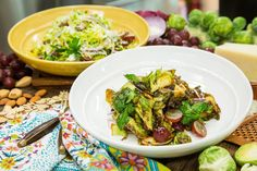 Love Brussels Sprouts? You must try Chef Antonia Lofaso's Raw Brussels Sprouts Salad! Don't miss Home & Family weekdays at 10a/9c on Hallmark Channel!