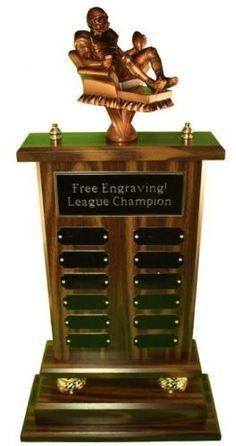 Perpetual Football Toilet Paper Trophy | I Love Football?51531 ...