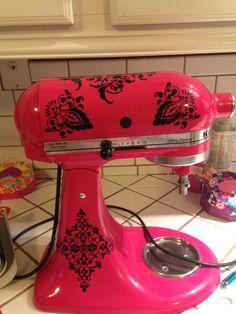 Decorated Kitchenaid Mixer Decals | My Vinyl Projects. | Pinterest | Kitchenaid  Mixer, KitchenAid And Decorating