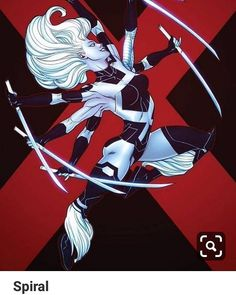 Uncanny X-Force McGuinness's variant. Marvel Comics, Marvel E Dc, Marvel Girls, Comics Girls, Marvel Heroes, Marvel Universe, Marvel Women, Female Comic Characters, Marvel And Dc Characters