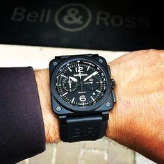 Bell&Ross BR 03-94 Black Matte in Ceramic.