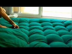 COMO HACER UNA CABECERA DE CAMA O RESPALDO DE CAMA : Dormitorios: Fotos de dormitorios Imágenes de habitaciones y recámaras, Diseño y Decoración